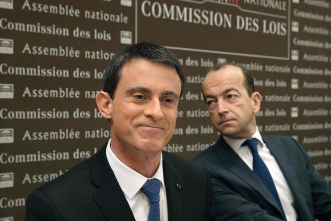 Manuel Valls durant la présentation du projet de loi de révision constitutionnelle, le 27 janvier 2016.