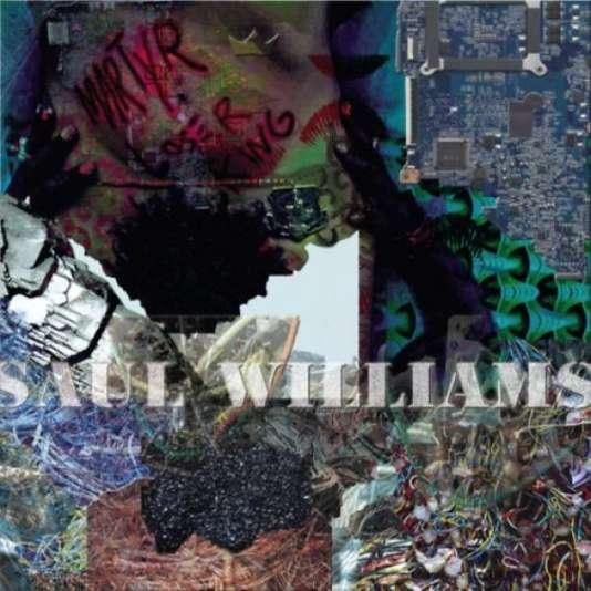 Pochette de l'album « MartyrLoserKing», de Saul Williams.