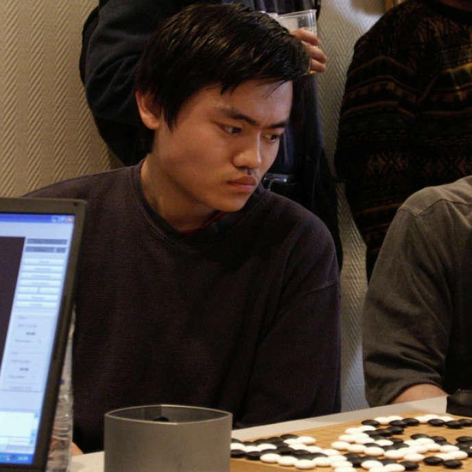 Le Français Fan Hui en 2004.
