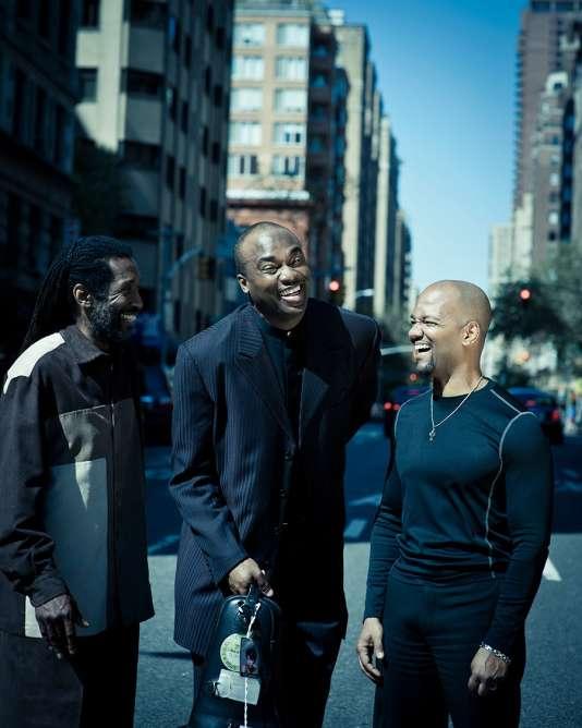 De gauche à droite : Leonard King Jr., James Carter et Gerard Gibbs.