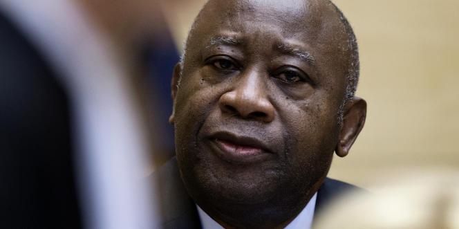 Laurent Gbagbo à la Cour pénale internationale, le 19février 2013, à La Haye.