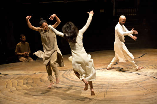 """Until the Lions"", une chorégraphie d'Akram Khan."