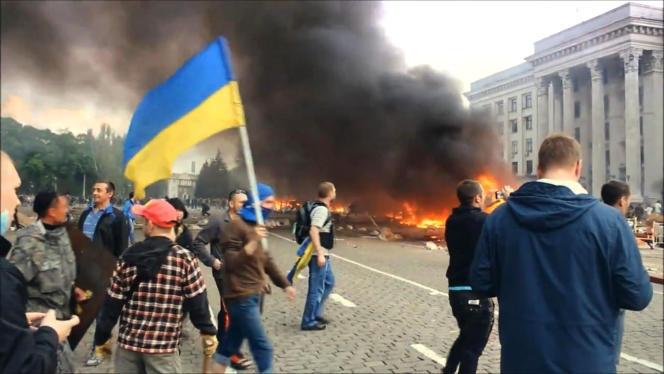 Odessa en Ukraine.