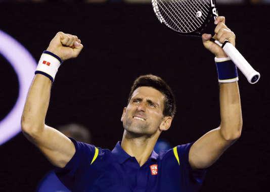 Novak Djokovic s'est imposé face à Roger Federer.