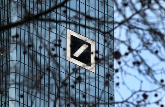 Le siège de laDeutsche Bank à Francfort, en Allemagne, en janvier 2016.