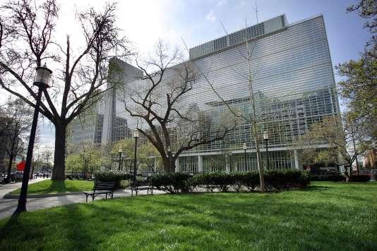 Le siège de la Banque mondiale, à Washington.