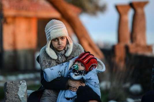 Selon le Haut Commissariat aux réfugiés des Nations unies (HCR), 54518 personnes sont arrivées en Europe depuis le 1erjanvier, dont 84% sont des réfugiés.