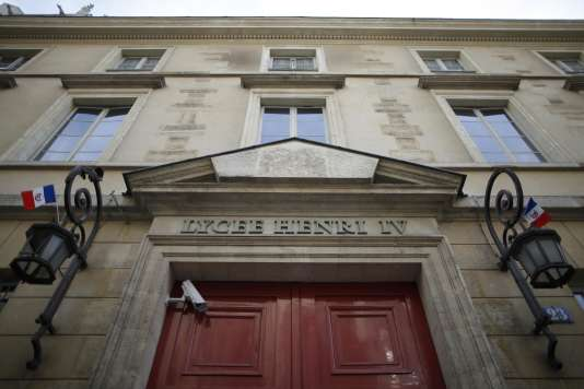 Le lycée Henri-IV, à Paris, a été la cible de plusieurs menaces téléphoniques, en janvier.