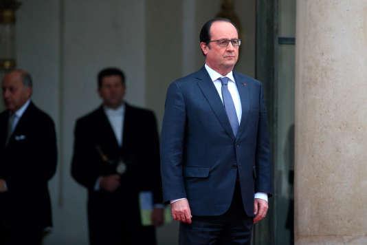 Le président de la République, François Hollande, le 28 janvier.