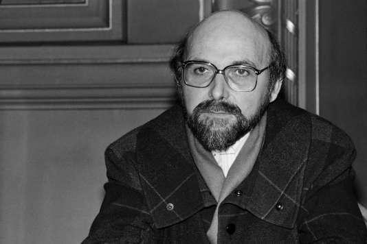 Portrait de Jean-Louis Martinoty, en février 1986.