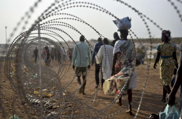 Juba, capitale du Soudan du Sud, faisait toujours l'objet, en janvier2016, de tensions entre Salva Kiir, le président, et Riek Machar, son principal opposant.