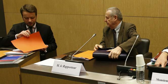 Dominique Raimbourg, président de la commission des lois de l'Assemblée nationale, le 28 janvier.