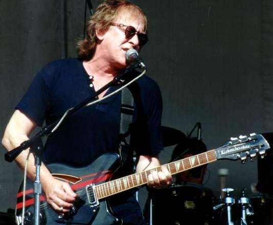 Paul Kantner lors d'un concert à Hallandale, en Floride (date inconnue).