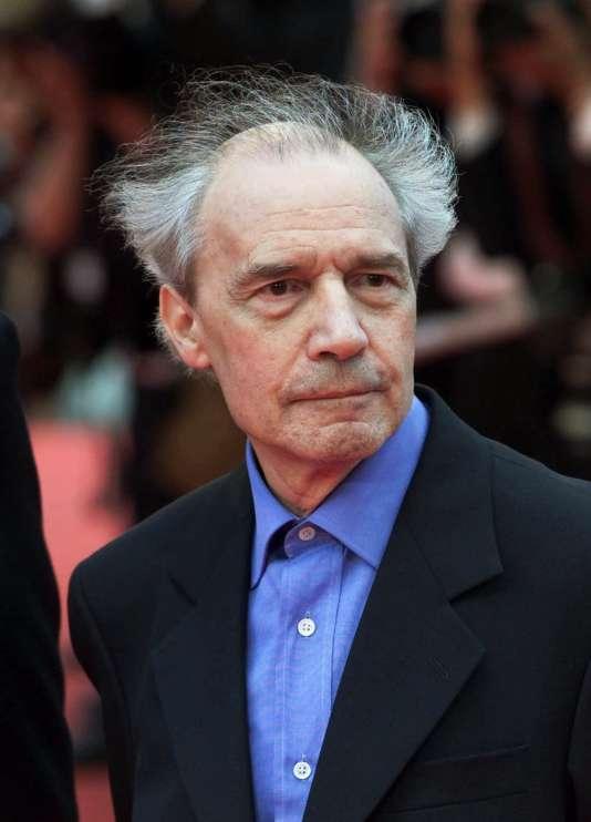 Jacques Rivette à Cannes, en 2001.