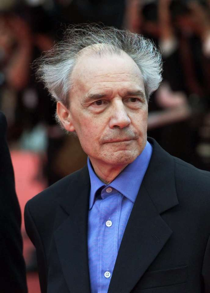 Jacques Rivette à Cannes, en 2001.