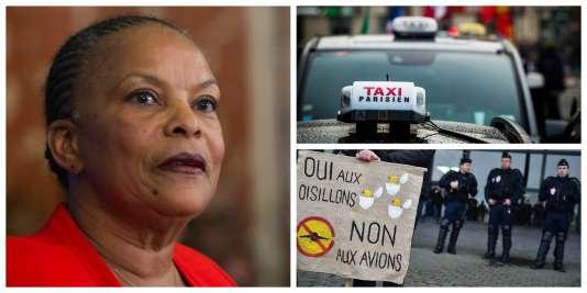 Démission de Christiane Taubira, débat sur la déchéance de nationalité, grève des taxis : retour sur l'actualité de ces derniers jours.