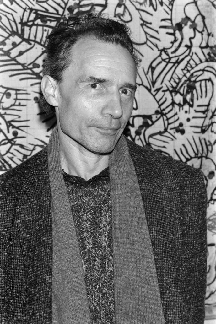 Jacques Rivette à Paris,  le 13 novembre 1984.