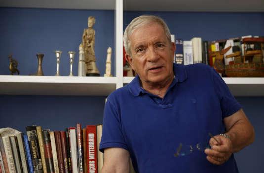 Charles Enderlin, en août 2015, à Jérusalem.