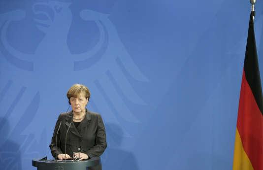 La chancelière allemande Angela Merkel, le 29 janvier à Berlin.