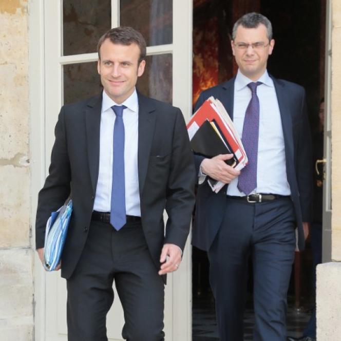 Alexis Kohler, le directeur de cabinet d'Emmanuel Macron, le 4juin2015 à Paris.