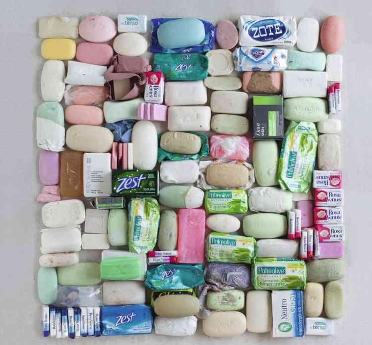 Articles de toilette confisqués ou abandonnés.