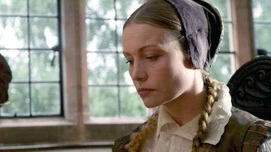 Tracy Borman prête ses traits à la reine Elisabeth 1re (1533-1603, fille de Henri VIII et Anne Boleyn, exécutée trois ans après sa naissance) dans le documentaire de Mark Fielder.