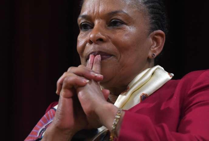 Christiane Taubira à New York peu après son départ du gouvernement.