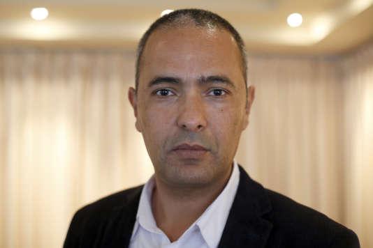 L'écrivain et journaliste algérien Kamel Daoud le 5 mai 2015 à Paris.