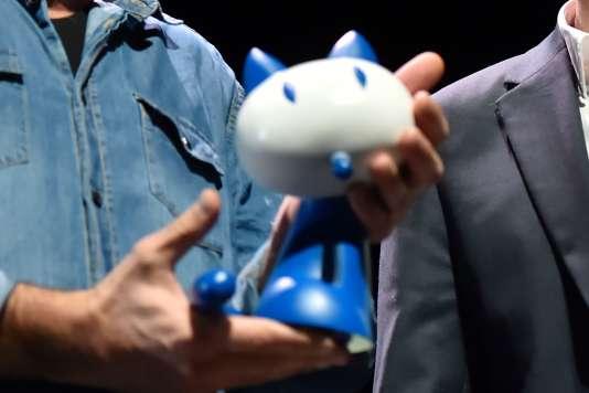 Des faux Fauves ont été annoncés lors d'un canular en ouverture de la remise des prix à Angoulême, le 30janvier.