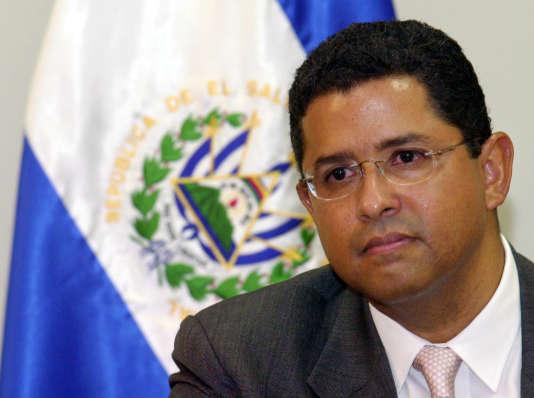 Francisco Flores, ancien président du Salvador, dans sa maison de San Salvador en 2005.