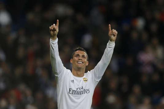 Cristiano Ronaldo a inscrit un triplé face à l'Espanyol Barcelone, dimanche 31 janvier.