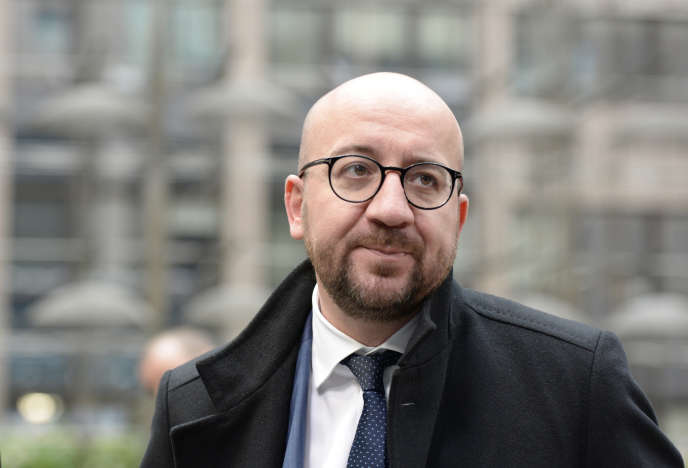 Charles Michel à Bruxelles le 29 novembre 2015.