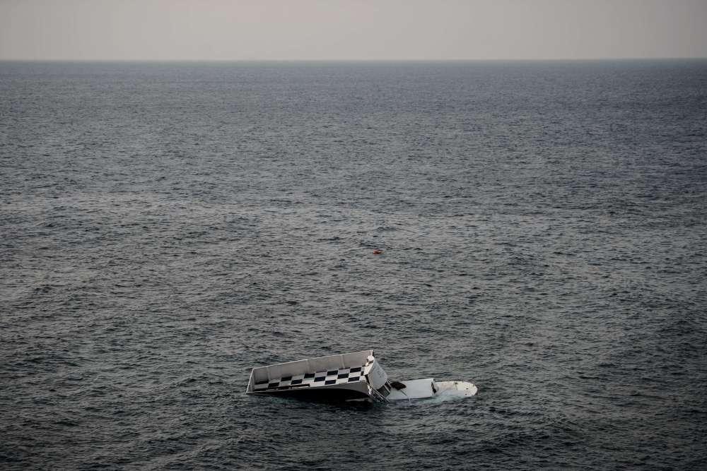« C'était une petite embarcation conçue pour promener les touristes, et dont la capacité est de vingt ou trente passagers au grand maximum. Quand elle a sombré, plus de cent migrants s'entassaient à bord. Chacun avait payé 1 200 euros aux passeurs. »