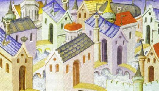 Hangzhou, image d'un illustrateur français réalisée en 1412.