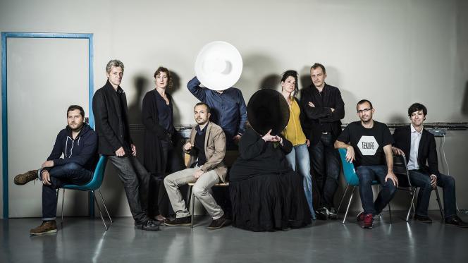 Les membres de la rédaction des Jours, en mai 2015.