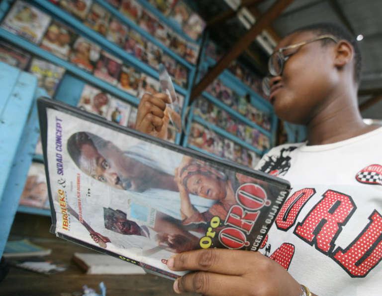 Jaquette d'un film produit par Nollywood, l'industrie du cinéma du Nigeria, la deuxième du monde, après l'Inde et avant les Etats-Unis.