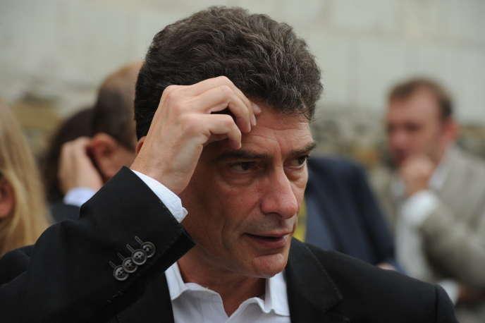 L'anciensecrétaire national d'Europe Ecologie-Les Verts (EELV), Pascal Durand, en septembre 2013.