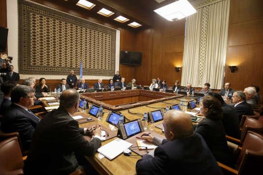 Des discussions de paix pour la Syrie ont officiellement commencé lundi 1er février à Genève.
