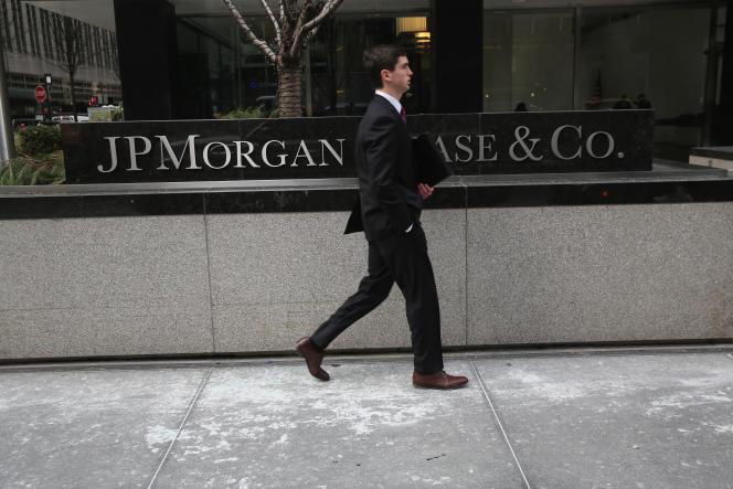 JPMorgan Chase Bank-kantoren in New York.