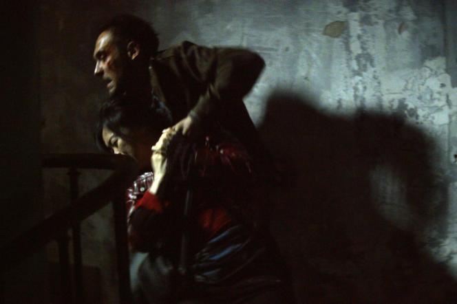 Qiu Lan et Yannick Choirat dans le film français de Naël Marandin,