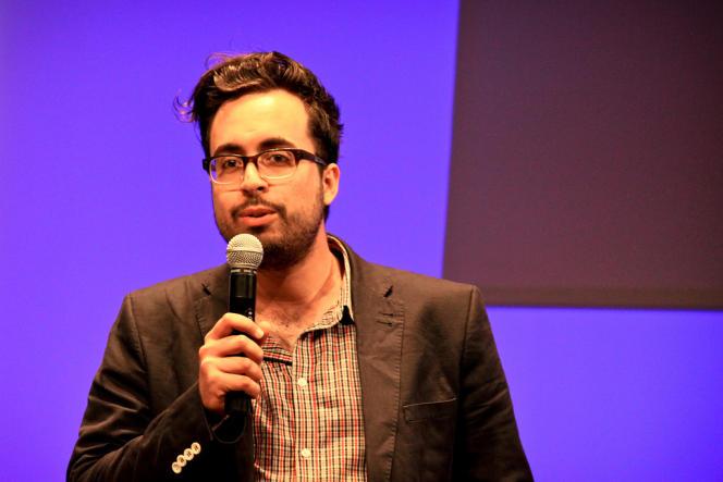 Mounir Mahjoubi lors d'une conférence en 2011.