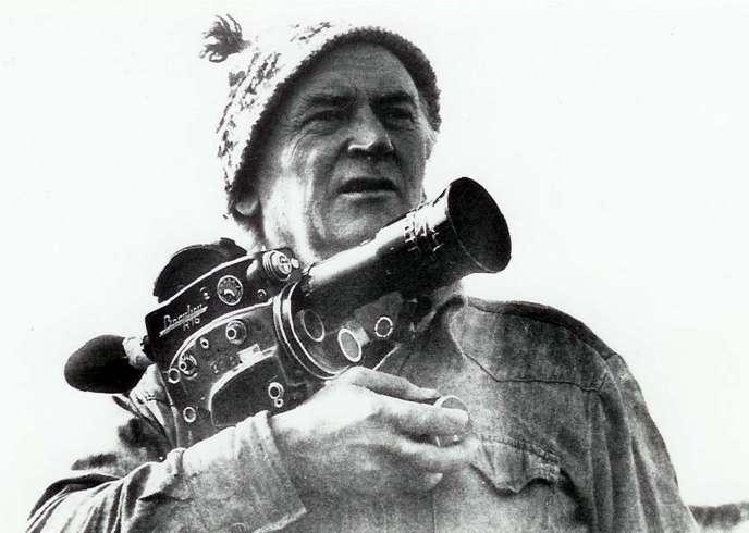 Le cinéaste René Vautier en 1977.