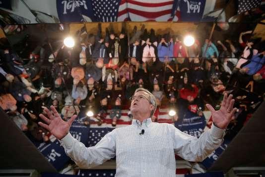 Jeb Bush a dépensé plus de 14 millions de dollars dans l'Iowa mais n'a obtenu que 3 % des suffrages.