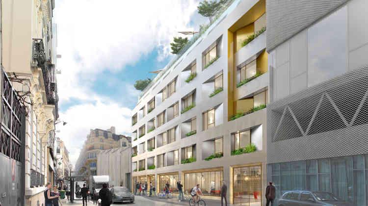 A partir d'une parcelle actuellement nue, située au 61, rue de Buzenval (Paris 20e), les concepteurs réfléchissent à un type d'auberge novateur et hybride, d'une surface de 1800 m², qui accueillera 142 lits. Le bâtiment proposera notamment un espace modulable, qui pourra être utilisé en journée pour du coworking ou des répétitions de groupes de musique.