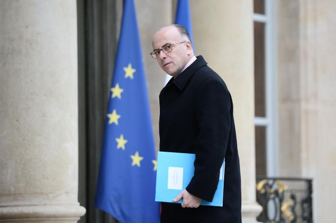 Le ministre français de l'Intérieur, Bernard Cazeneuve, à l'Elysée le 2février.