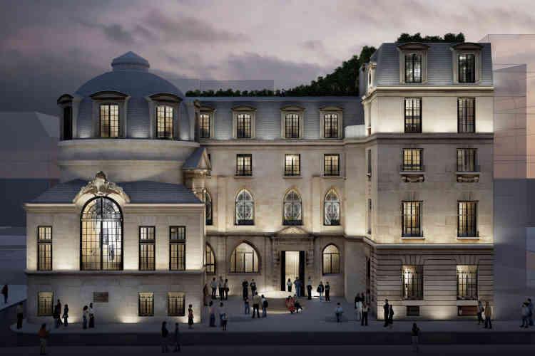 Situé au 15, rue de la Bûcherie (Paris 5e), ce bâtiment construit vers 1475 pour accueillir la faculté de médecine de Paris, a été transformé en bureaux. Les concepteurs souhaitent perpétuer la tradition d'innovation et de création de l'hôtel particulier, en proposant notamment un « Philantro-Lab », un laboratoire qui sera le premier incubateur tourné vers la philanthropie. L'objectif est d'y faire se rencontrer différents publics (mécènes, porteurs de projets, associations et bénévoles) afin d'aider et d'accélérer le développement de projets visant à améliorer la vie des gens, à Paris et en France.