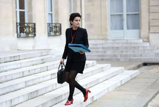 La ministre de l'éducation nationale, Najat Vallaud-Belkacem, le 2 février à Paris.