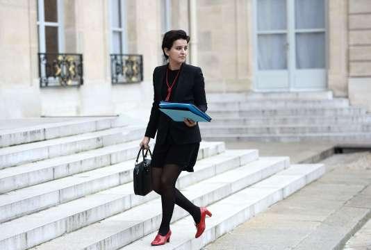 La ministre de l'éducation nationale, Najat Vallaud-Belkacem, le 2 février à Paris.