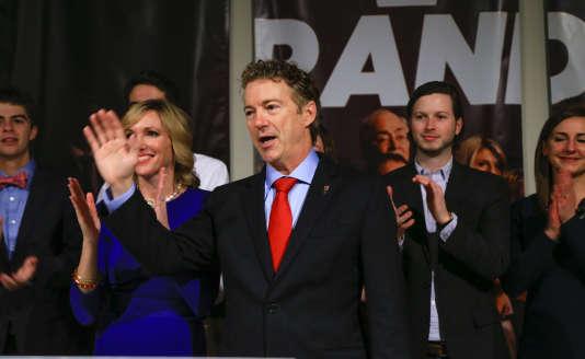 Rand Paul à Des Moines (Iowa), le 1er février.