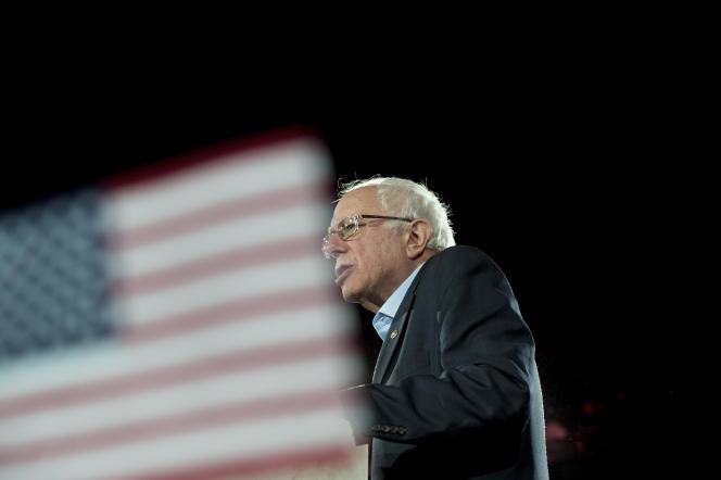 Bernie Sanders à Des Moines, le 1er février.
